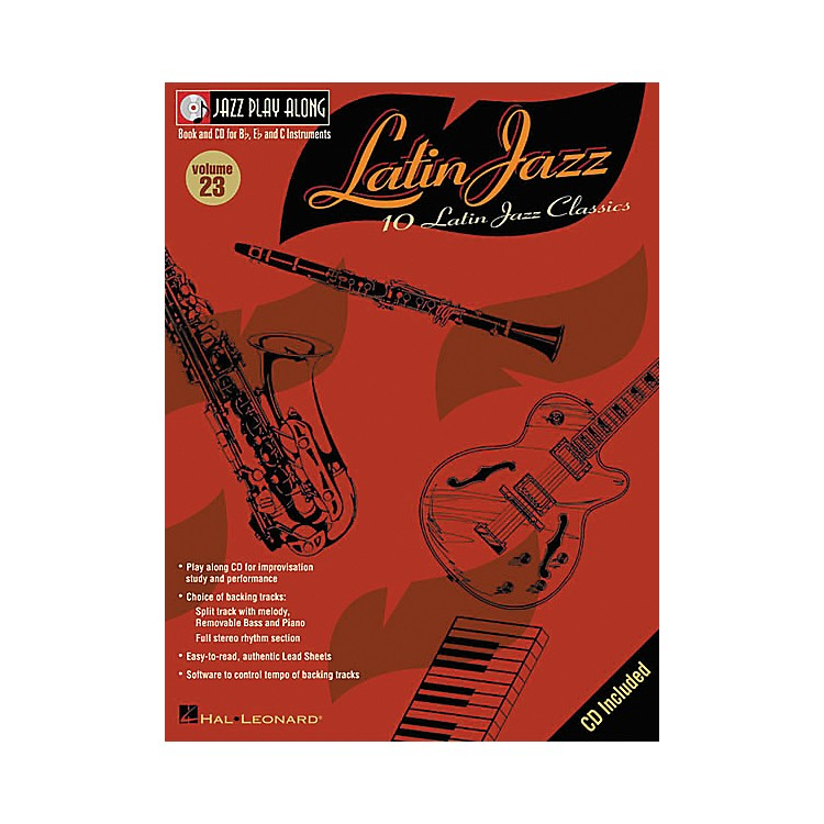 Hal Leonard Jazz Play-Along Series Latin Jazz Book with CD
