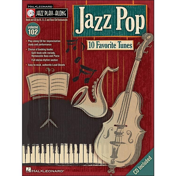Hal LeonardJazz Pop - Jazz Play-Along Volume 102 (CD/Pkg)
