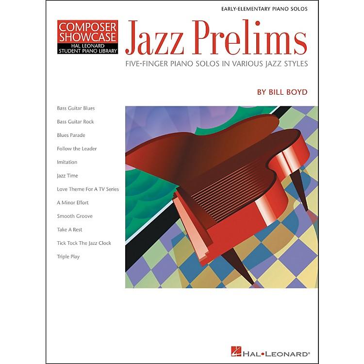 Hal LeonardJazz Prelims Five Finger Piano Solos by Bill Boyd