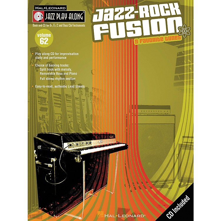 Hal Leonard Jazz-Rock Fusion - Jazz Play Along Volume 62 Book with CD