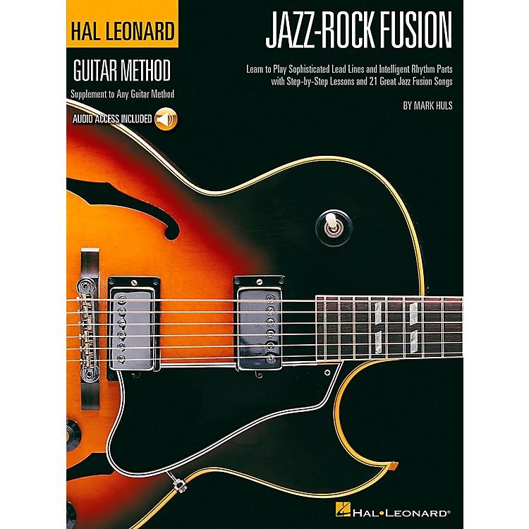 Hal LeonardJazz-Rock Fusion Guitar Stylistic Supplement To The Hal Leonard Guitar Method Book/CD