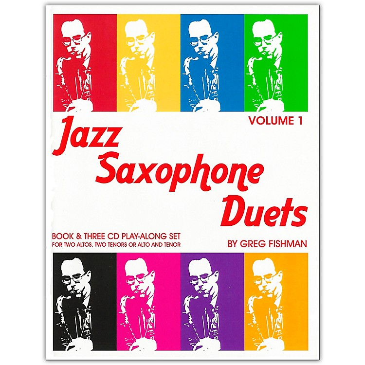 Jamey Aebersold Jazz Saxophone Duets Book and CDs
