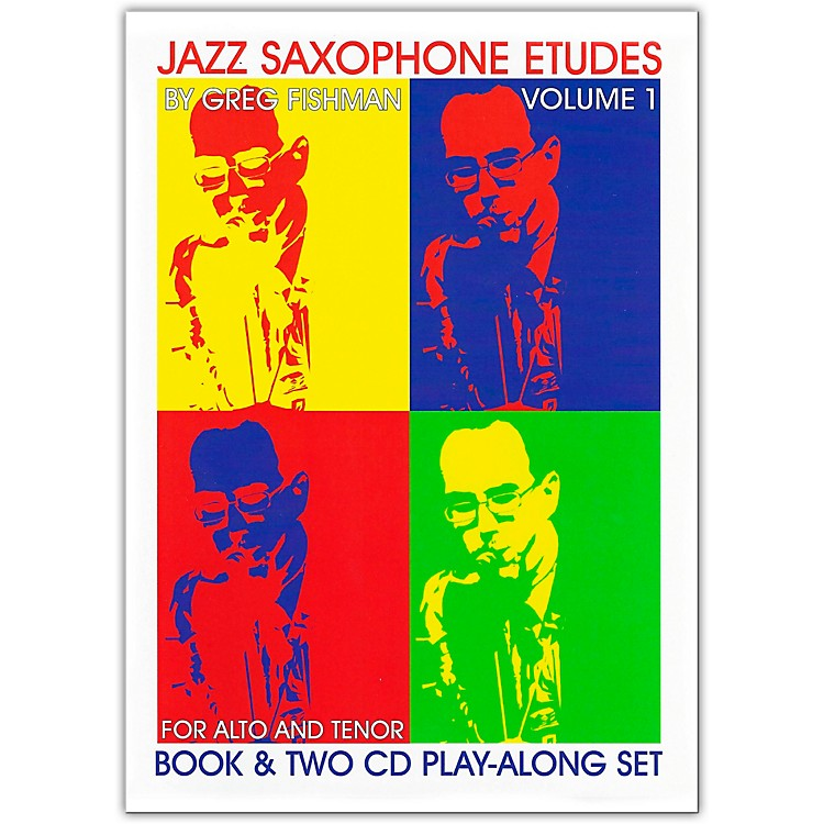 Jamey Aebersold Jazz Saxophone Etudes Book and CDs