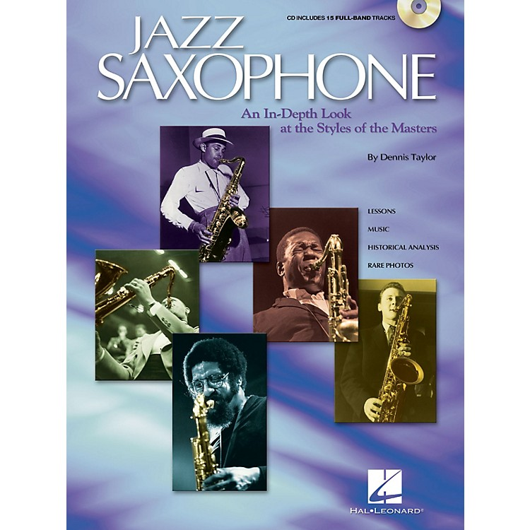 Hal LeonardJazz Saxophone Sax Instruction Series Softcover with CD Written by Dennis Taylor