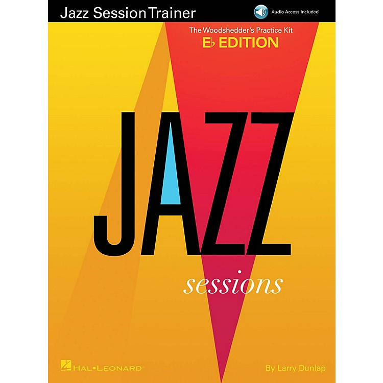 Hal LeonardJazz Session Trainer Jazz Instruction Series Softcover Audio Online Written by Larry Dunlop