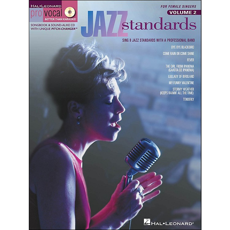 Hal Leonard Jazz Standards for Female Singers Pro Vocal Series Volume 2 Book/CD