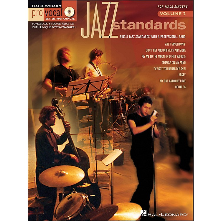 Hal LeonardJazz Standards for Male Singers - Pro Vocal Series Volume 2 Book/CD