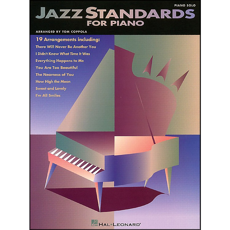 Hal LeonardJazz Standards for Piano arranged for piano solo