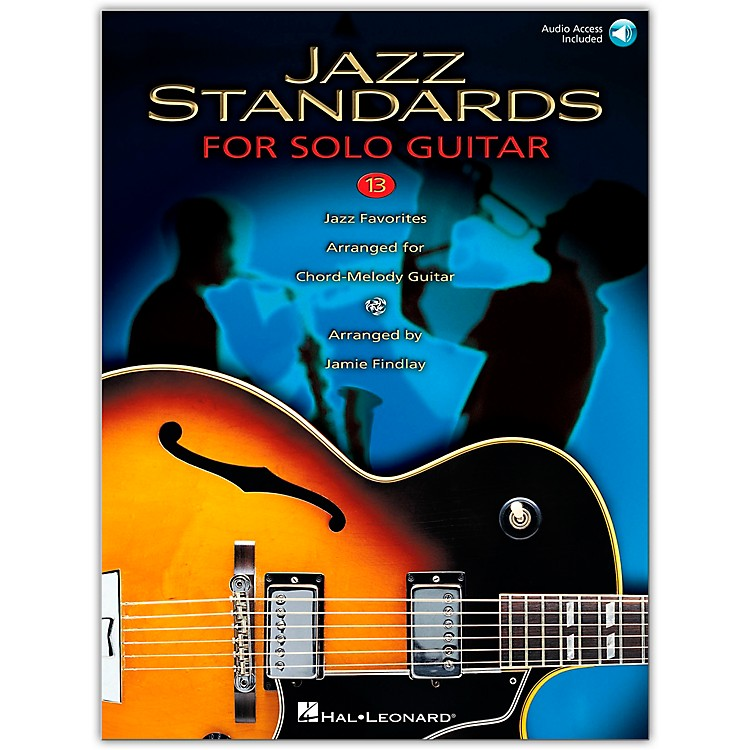 Hal Leonard Jazz Standards for Solo Guitar (Book/Online Audio)