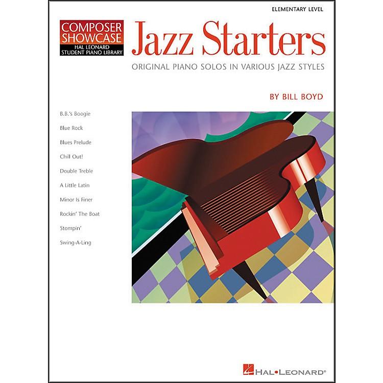Hal LeonardJazz Starters Piano Solos Early Elementary Hal Leonard Student Piano Library by Bill Boyd