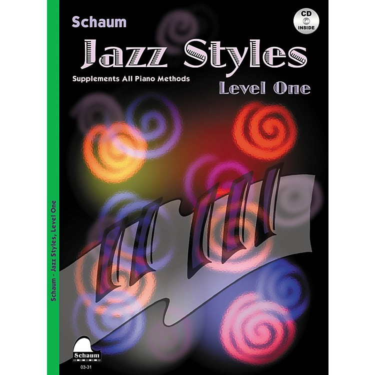 SCHAUMJazz Styles (Level One Book/CD) Educational Piano Series Softcover with CD Written by John Revezoulis