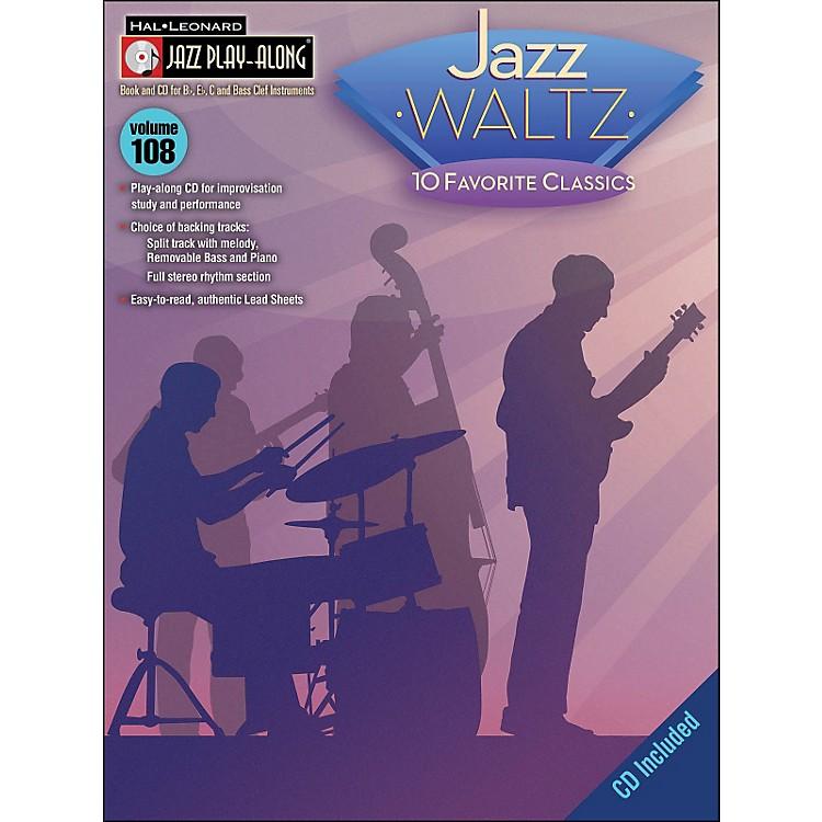 Hal LeonardJazz Waltz - Jazz Play-Along Volume 108 (CD/Pkg)