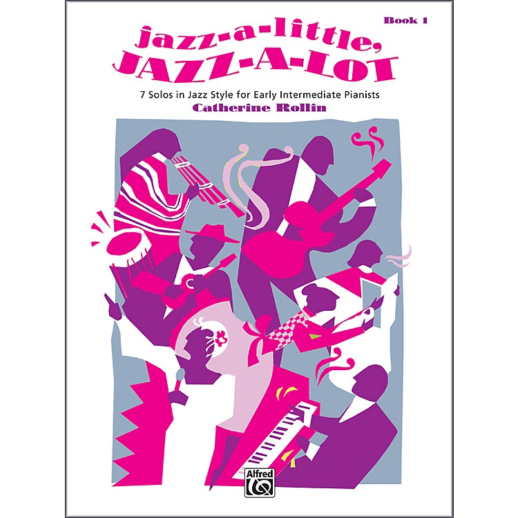 AlfredJazz-a-Little Jazz-a-Lot Book 1 Piano