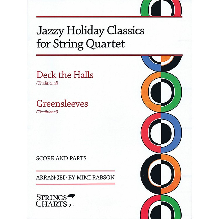 String Letter PublishingJazzy Holiday Classics for String Quartet String Letter Publishing Series Softcover by Mimi Rabson
