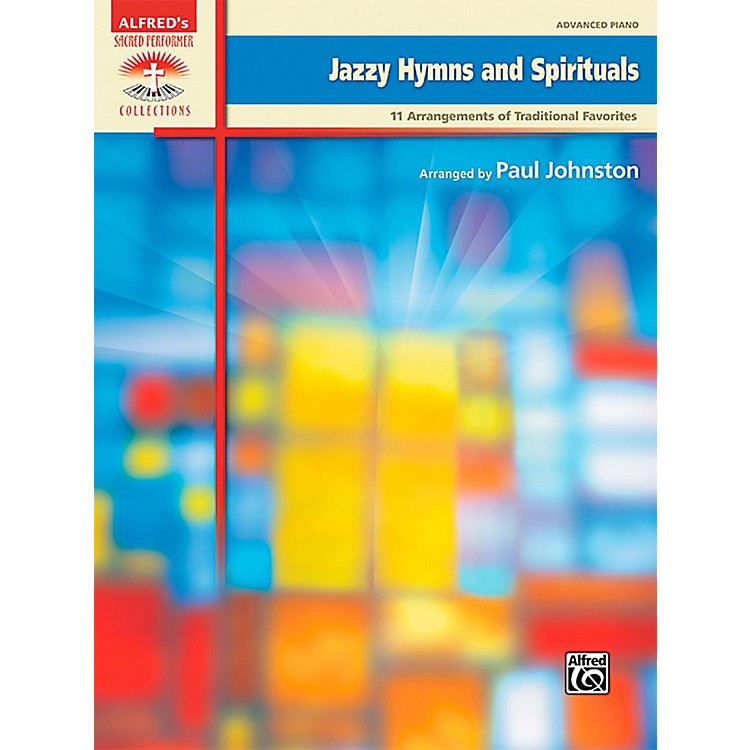 Alfred Jazzy Hymns and Spirituals Advanced Piano Book