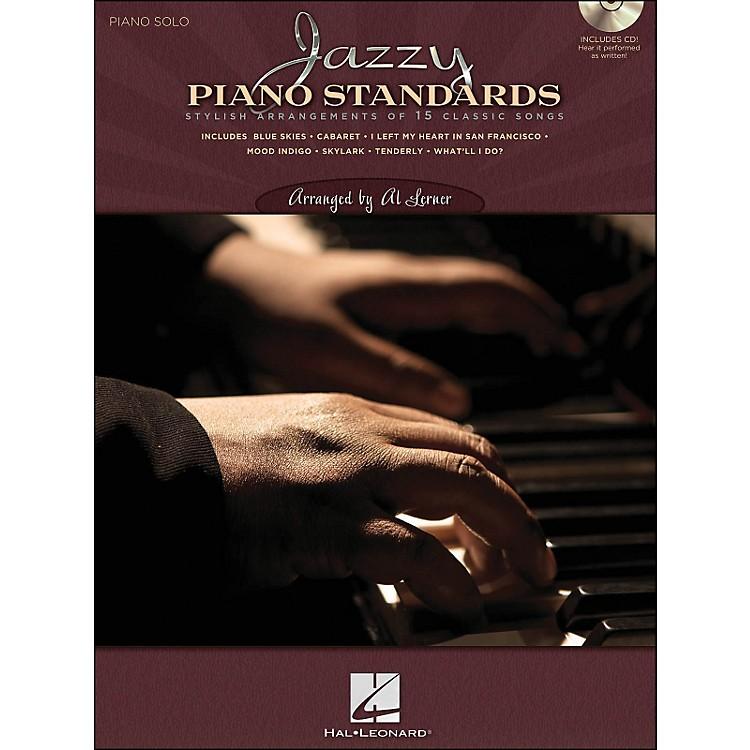 Hal LeonardJazzy Piano Standards - Lush Solo Arrangements Of 15 Classic Songs (CD/Pkg)