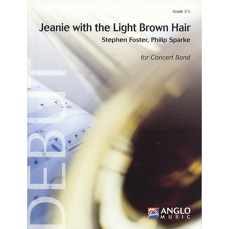 Anglo Music PressJeanie with the Light Brown Hair (Grade 2 - Score and Parts) Concert Band Level 2.5 by Philip Sparke