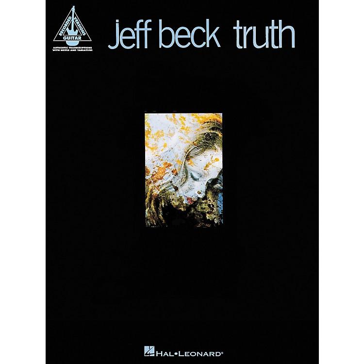 Hal LeonardJeff Beck - Truth Guitar Tab Songbook