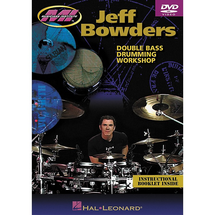 Hal LeonardJeff Bowders - Double Bass Drumming Workshop DVD
