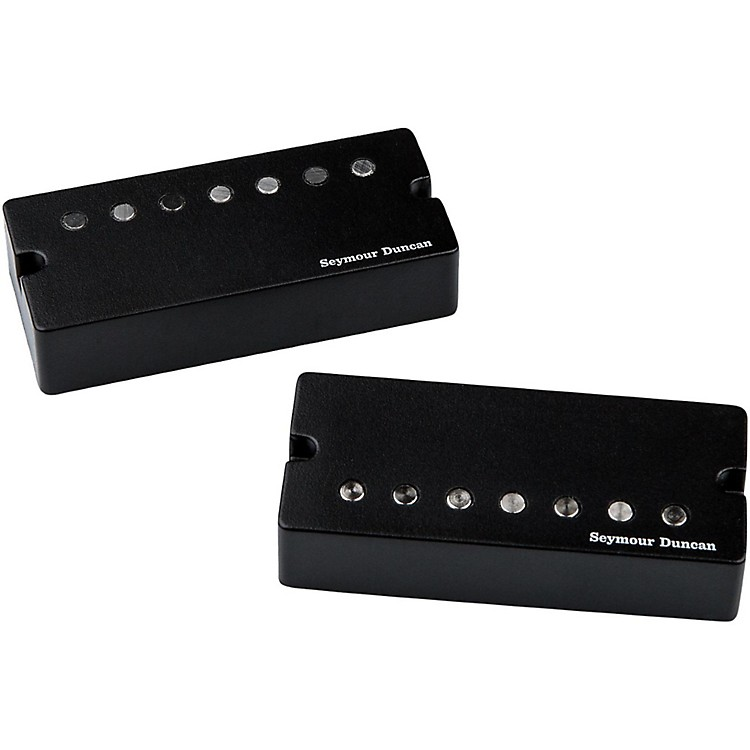 Seymour Duncan Jeff Loomis Blackout 7-String Set Humbucker Guitar Pickups with Active Mount Black
