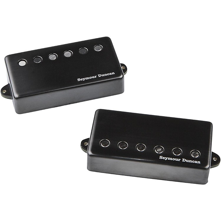 Seymour Duncan Jeff Loomis Blackouts 6-String Humbucker Guitar Pickup Set Black