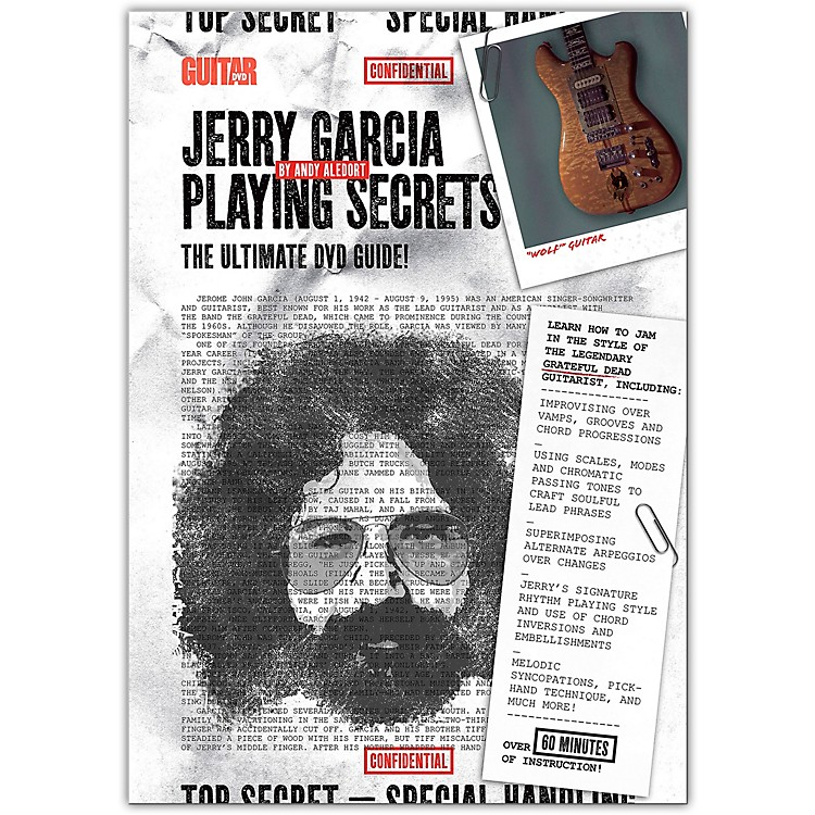 Guitar WorldJerry Garcia Playing Secrets DVD Intermediate