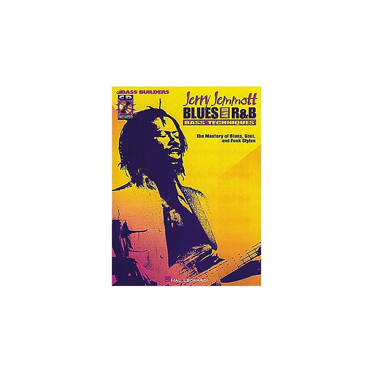 Hal LeonardJerry Jemmott - Blues and Rhythm and Blues Bass Technique (Book/CD)