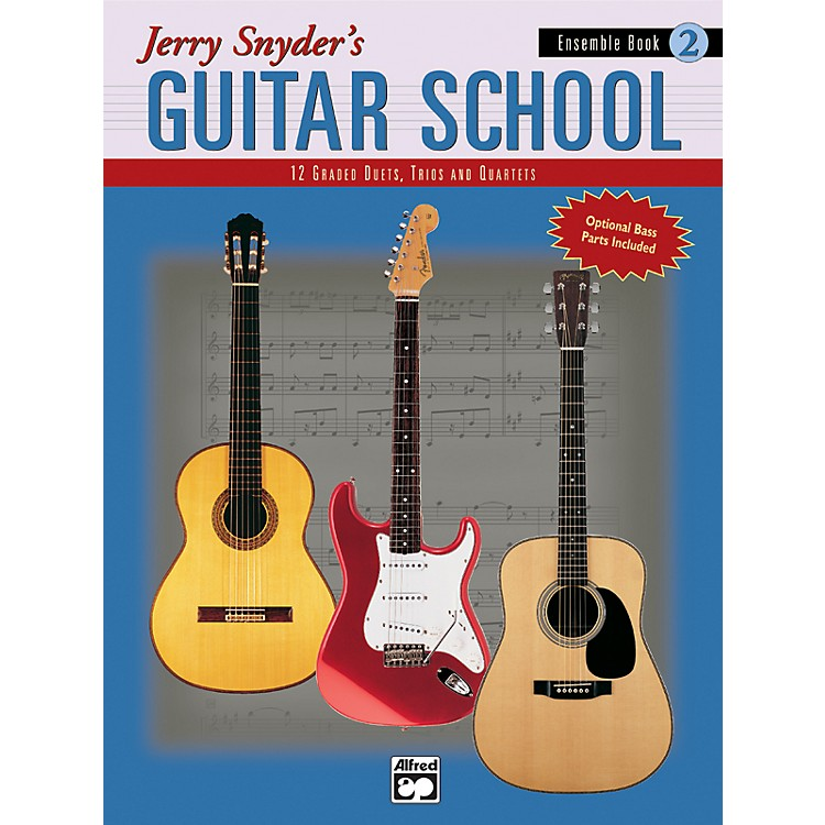 AlfredJerry Snyder's Guitar School Ensemble Book 2