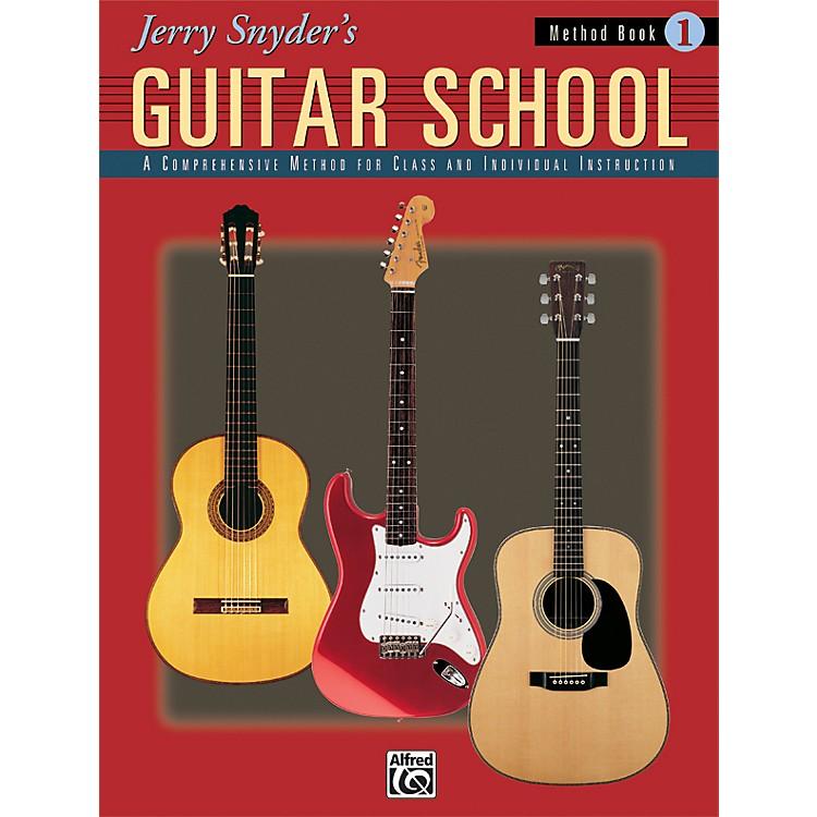 AlfredJerry Snyder's Guitar School Method Book 1 Book