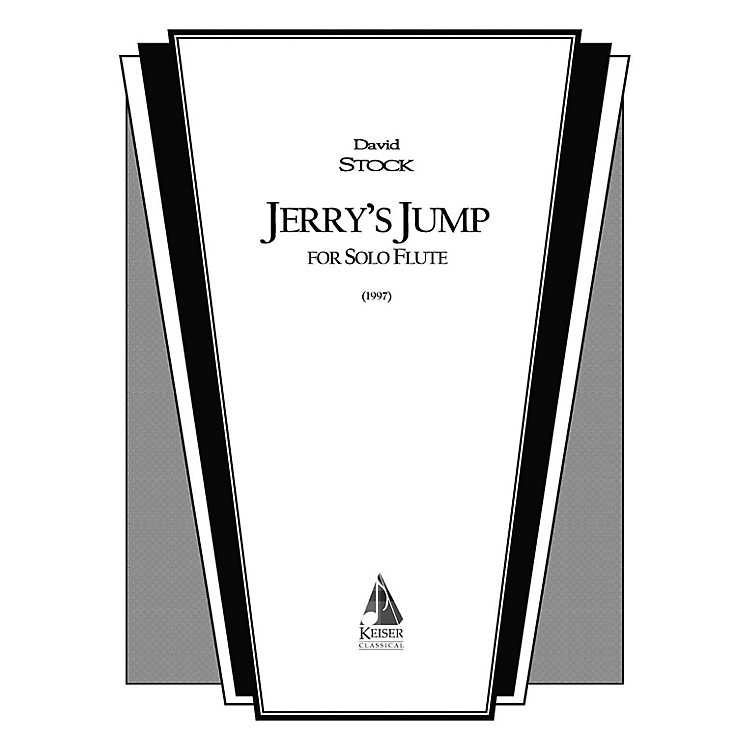 Lauren Keiser Music PublishingJerry's Jump (Flute Solo) LKM Music Series Composed by David Stock