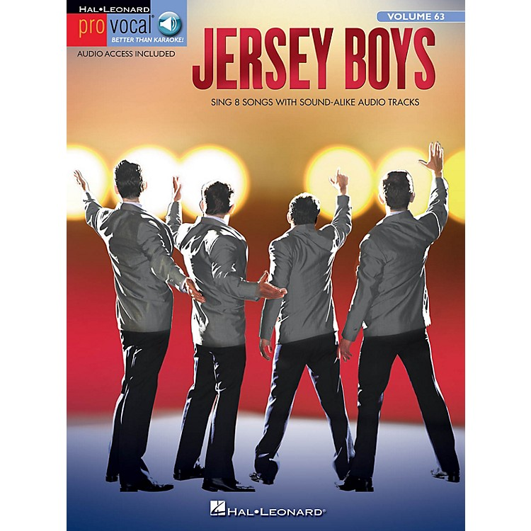 Hal LeonardJersey Boys Pro Vocal Series Softcover Audio Online
