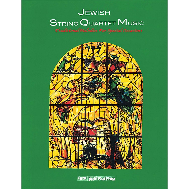 Tara PublicationsJewish String Quartet Music Tara Books Series Softcover with CD