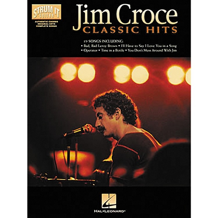 Hal Leonard Jim Croce - Classic Hits Strum It Guitar Book