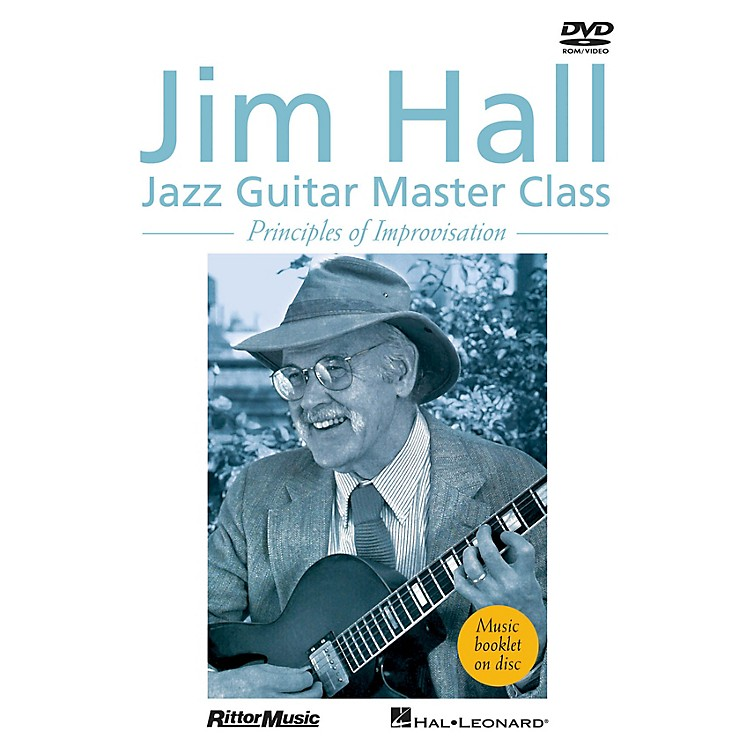 Rittor MusicJim Hall - Jazz Guitar Master Class (Principles of Improvisation) DVD Series DVD Performed by Jim Hall