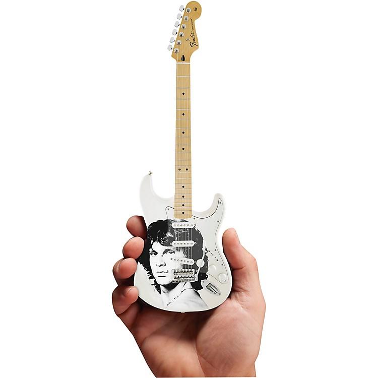 Axe HeavenJim Morrison Tribute Fender Stratocaster Officially Licensed Miniature Guitar Replica