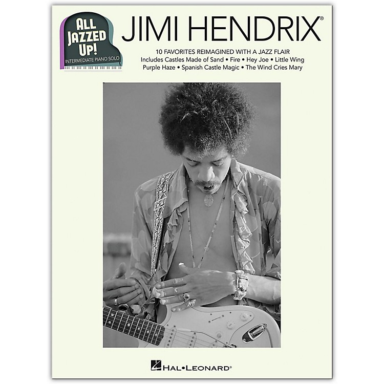 Hal Leonard Jimi Hendrix - All Jazzed Up!  for Intermediate Piano Solo