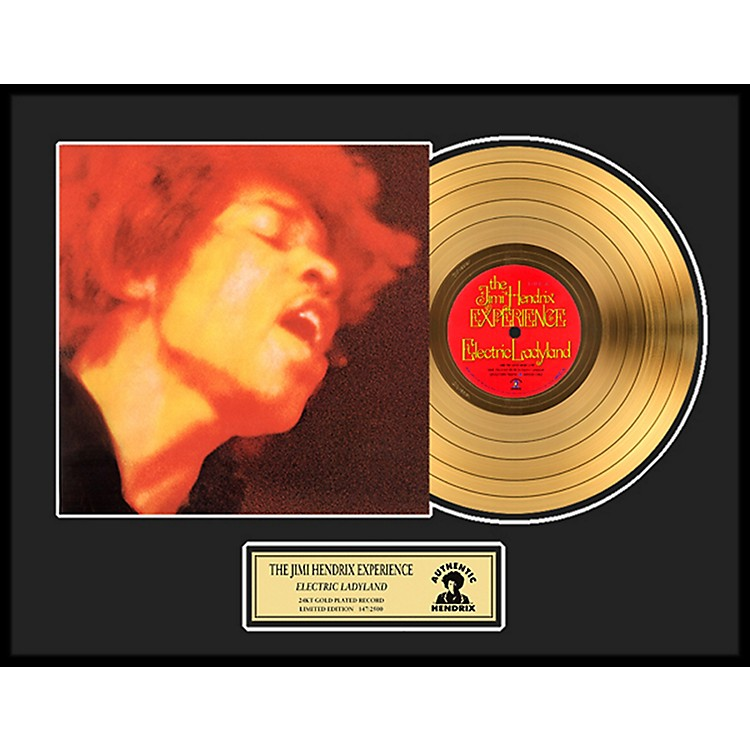 24 Kt. Gold RecordsJimi Hendrix - Electric Ladyland Gold LP Limited Edition of 2500