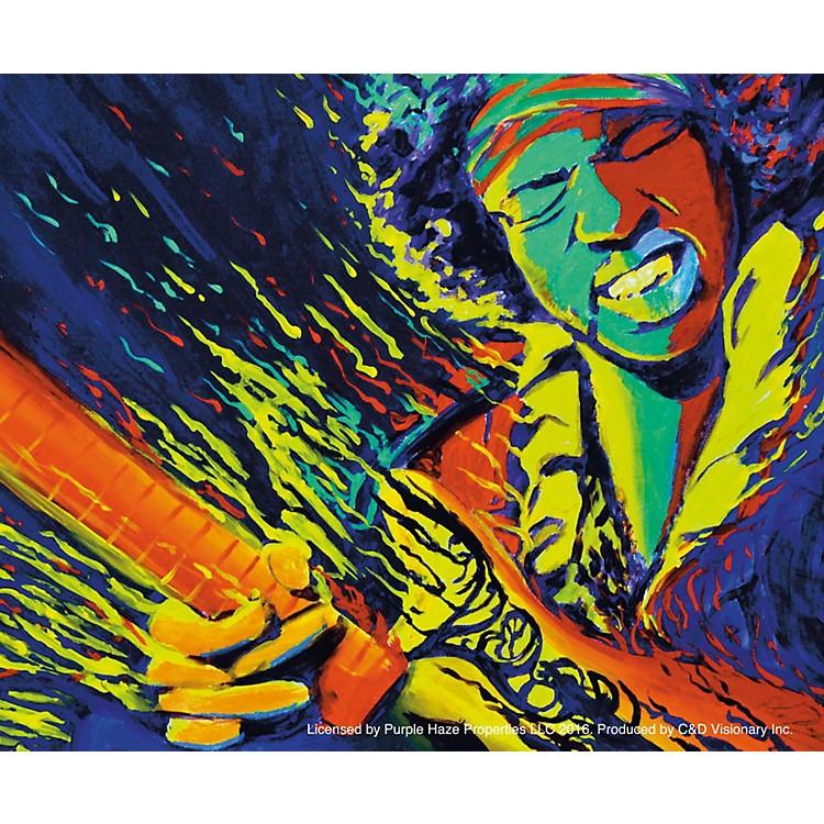 C&D VisionaryJimi Hendrix - Perform 2 Sticker