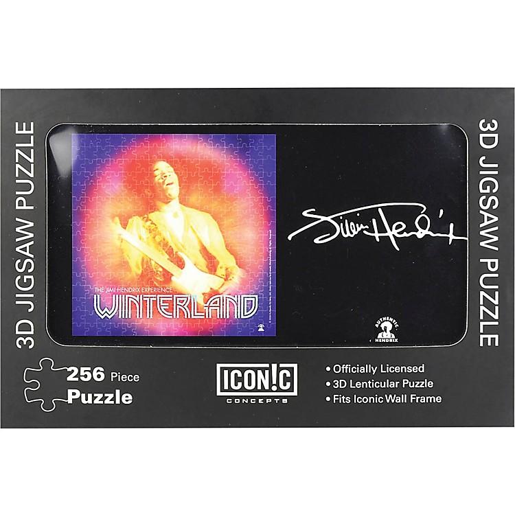Iconic ConceptsJimi Hendrix - Winterland 3D Lenticular Jigsaw Puzzle