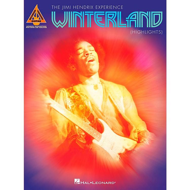 Hal LeonardJimi Hendrix - Winterland (Highlights) Guitar Tab Songbook