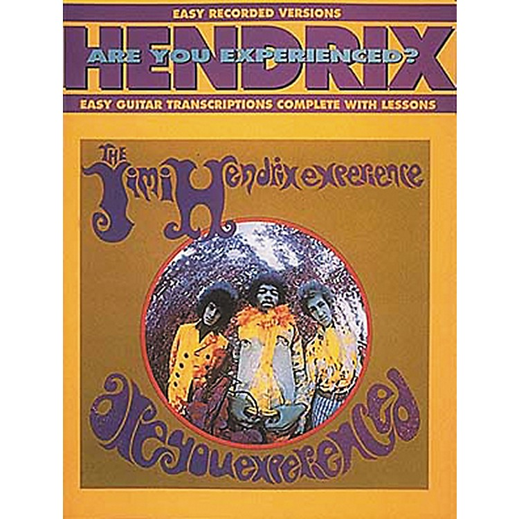 Hal LeonardJimi Hendrix Are You Experienced? Easy Guitar Tab Songbook with Lessons