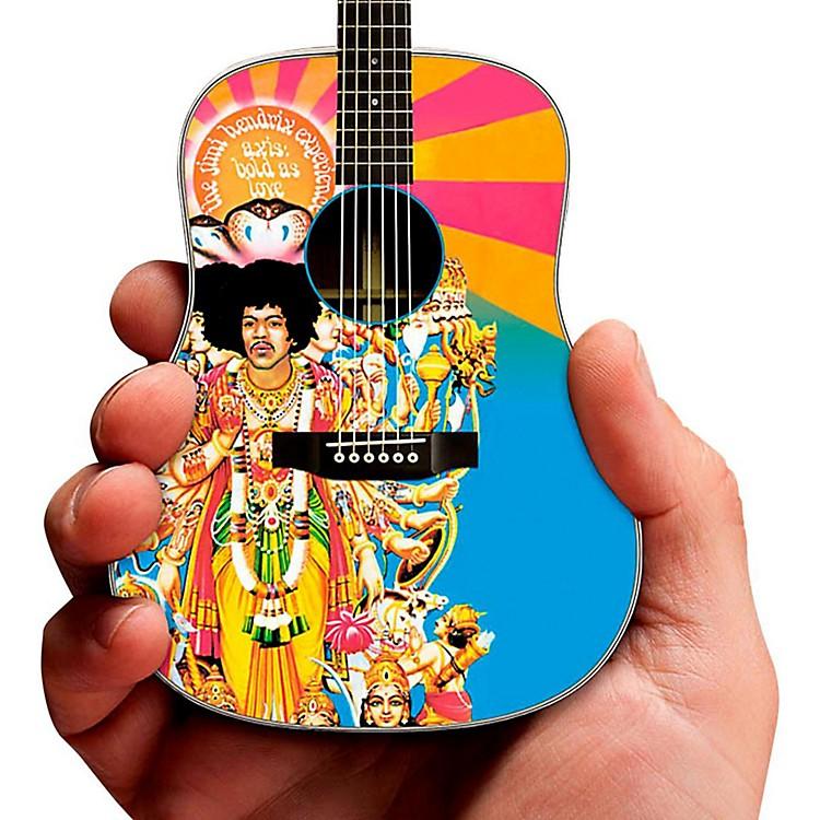 Axe HeavenJimi Hendrix Axis Bold As Love Acoustic Miniature Guitar Replica Collectible