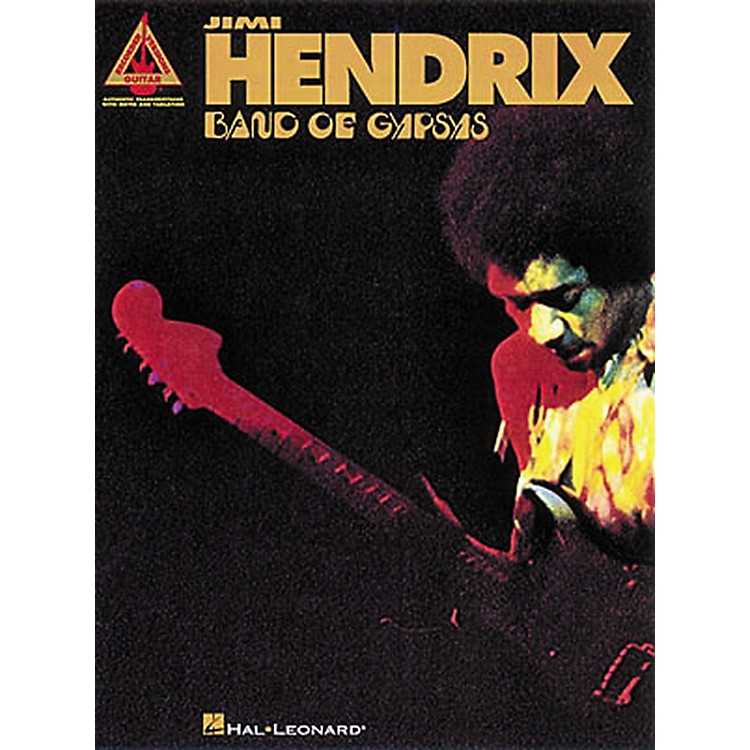 Hal Leonard Jimi Hendrix Band of Gypsys Guitar Tab Songbook