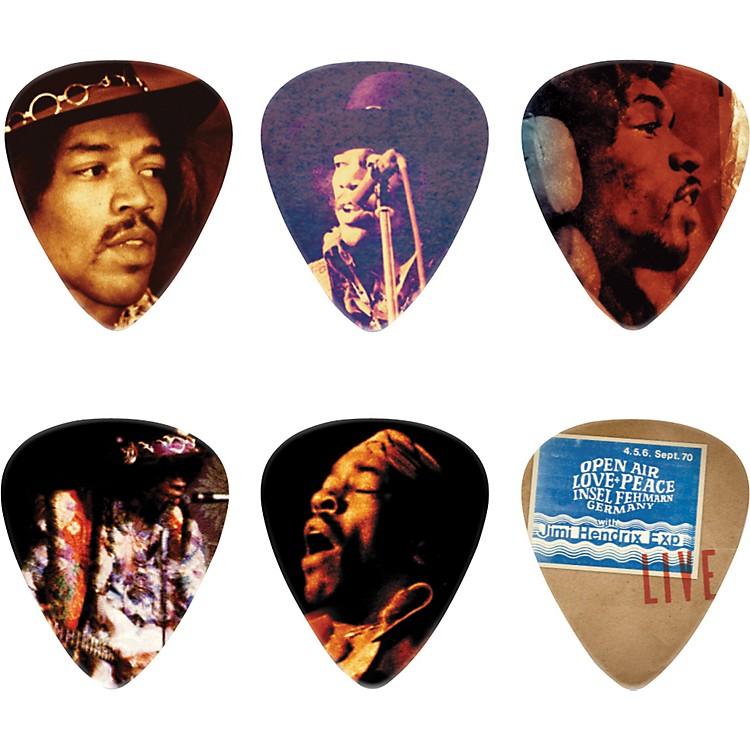 DunlopJimi Hendrix Hear My Music Pick Tin with 6 Medium Picks