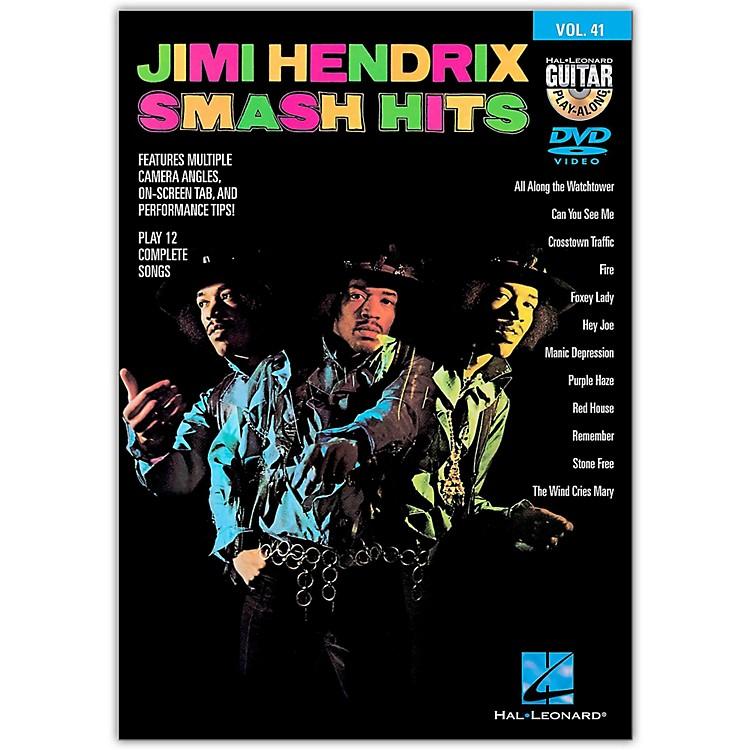 Hal LeonardJimi Hendrix Smash Hits - Guitar Play-Along DVD Volume 41