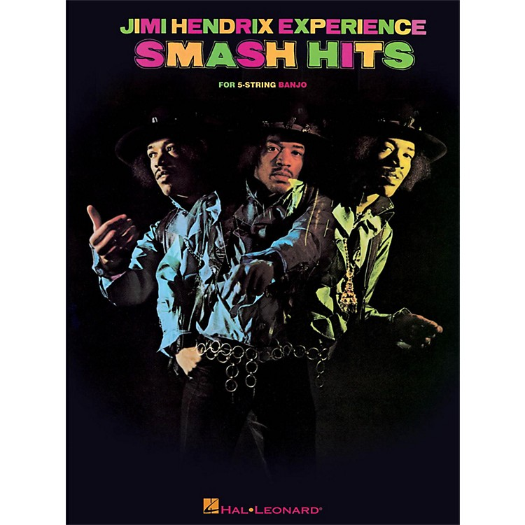 Hal Leonard Jimi Hendrix Smash Hits For Banjo