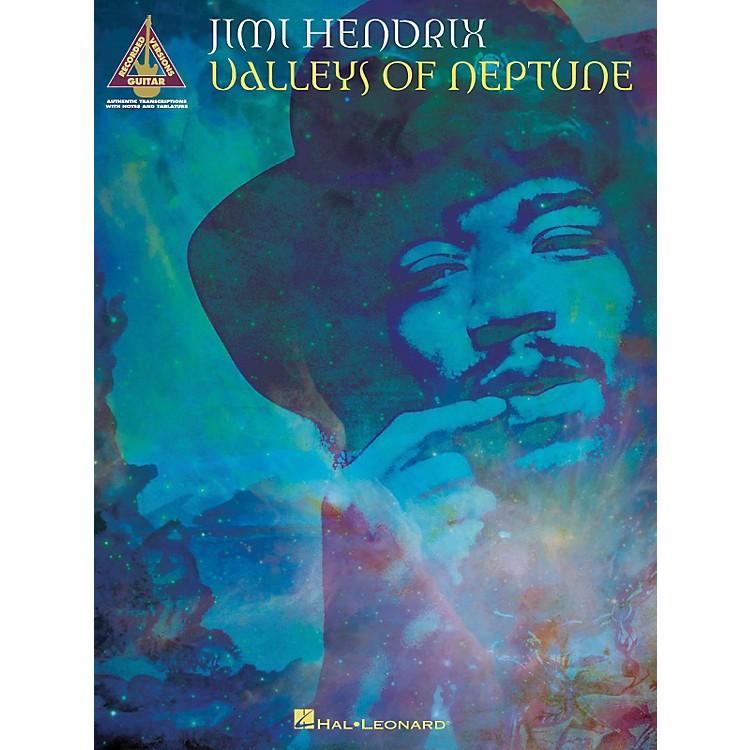Hal LeonardJimi Hendrix Valleys Of Neptune Guitar Tab Songbook