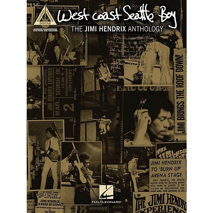 Hal LeonardJimi Hendrix West Coast Seattle Boy: The Jimi Hendrix Anthology Guitar Tab Songbook