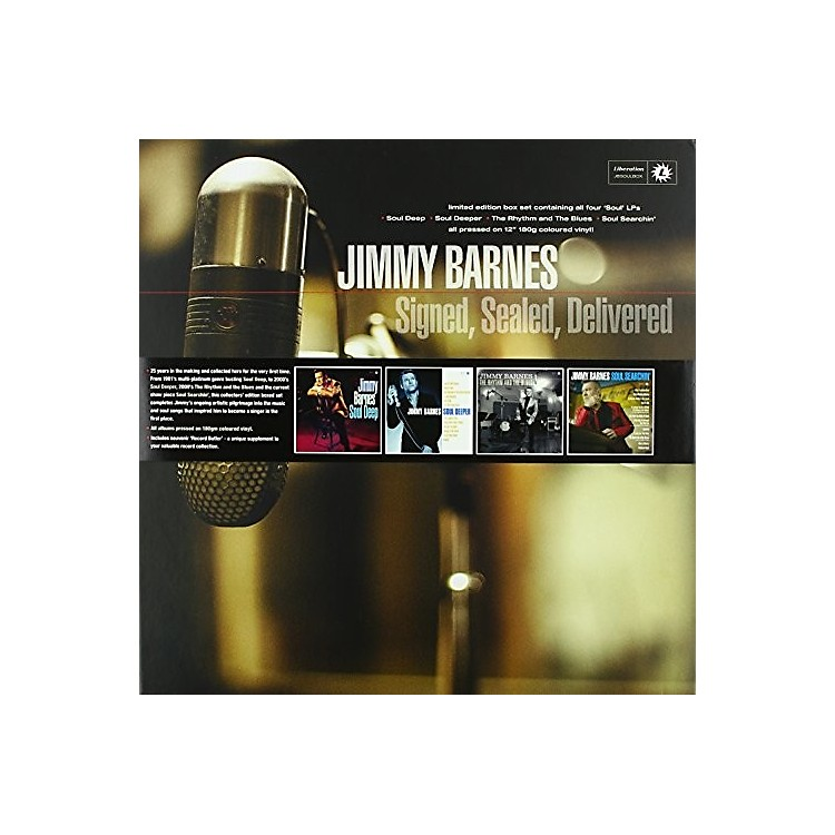 Alliance Jimmy Barnes - Signed Sealed Delivered