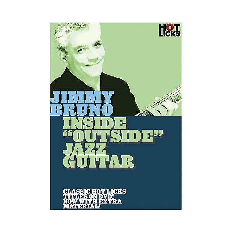 Music SalesJimmy Bruno - Inside Outside Jazz Guitar Music Sales America Series DVD Performed by Jimmy Bruno